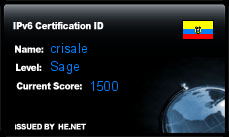 Certificación IPv6 RedesEcuador