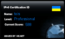 IPv6 Certification Badge for teis