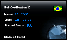IPv6 Certification Badge for az2com